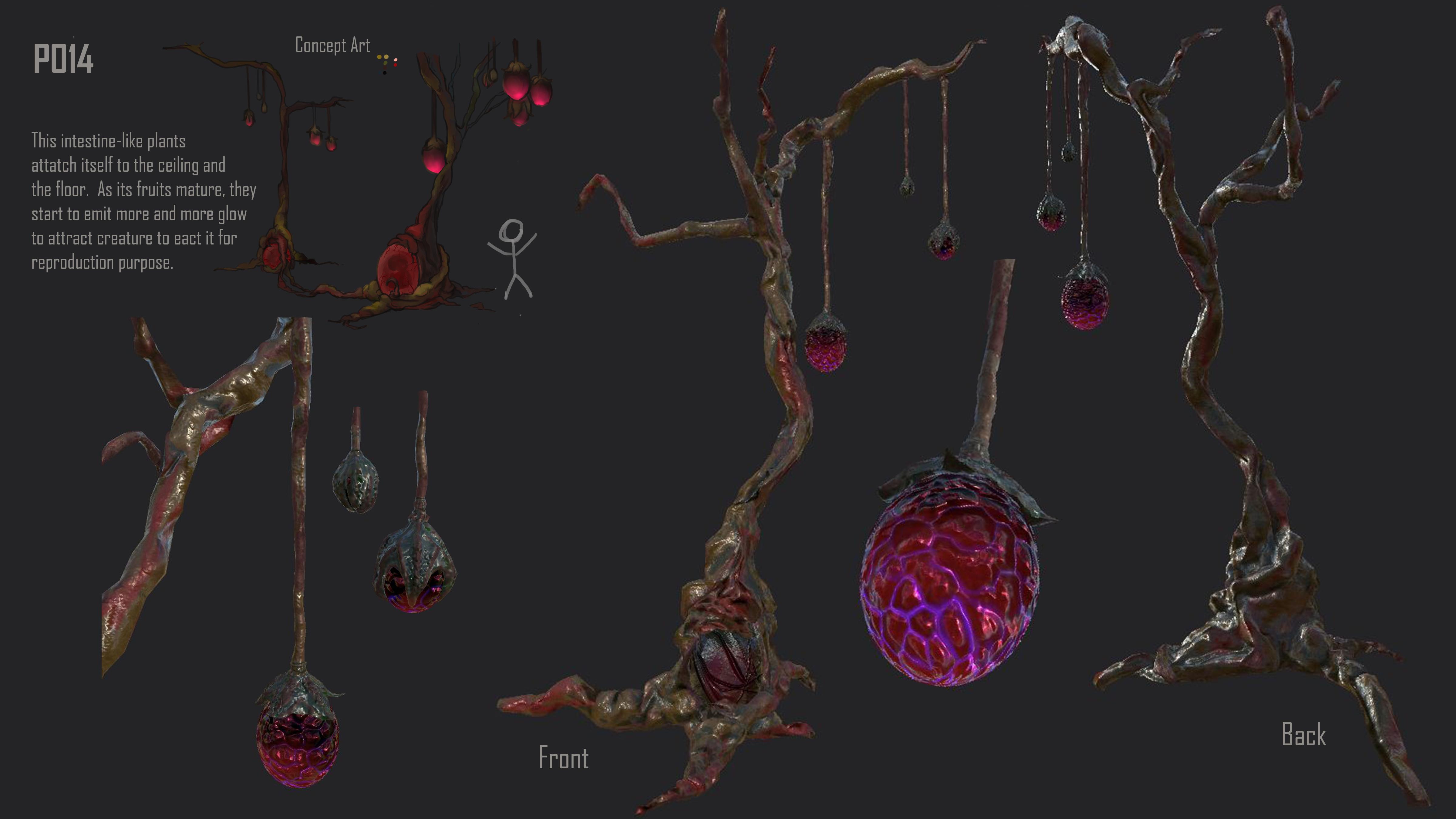 Alien Plant - P014