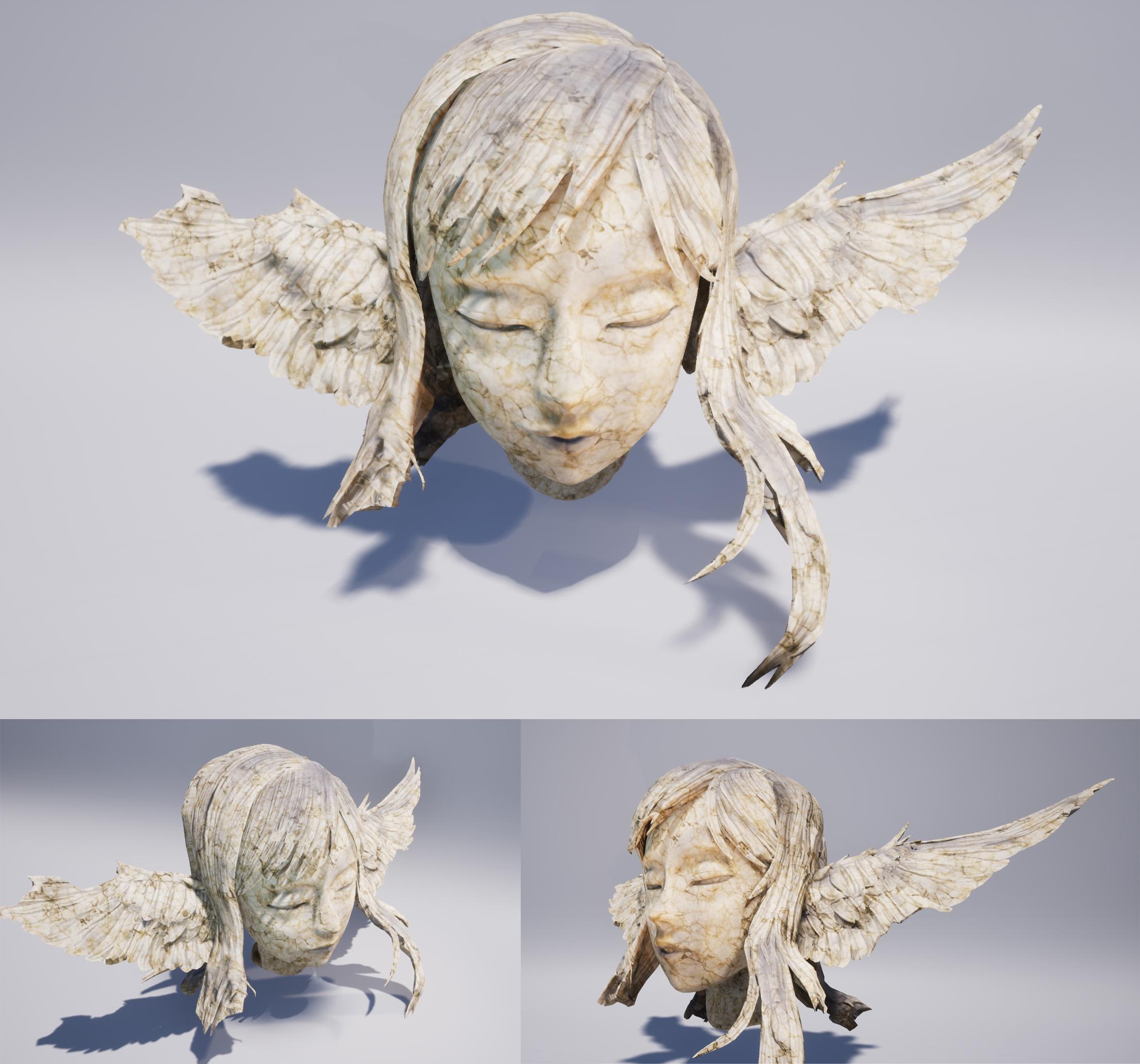 Petrified Angel's Head