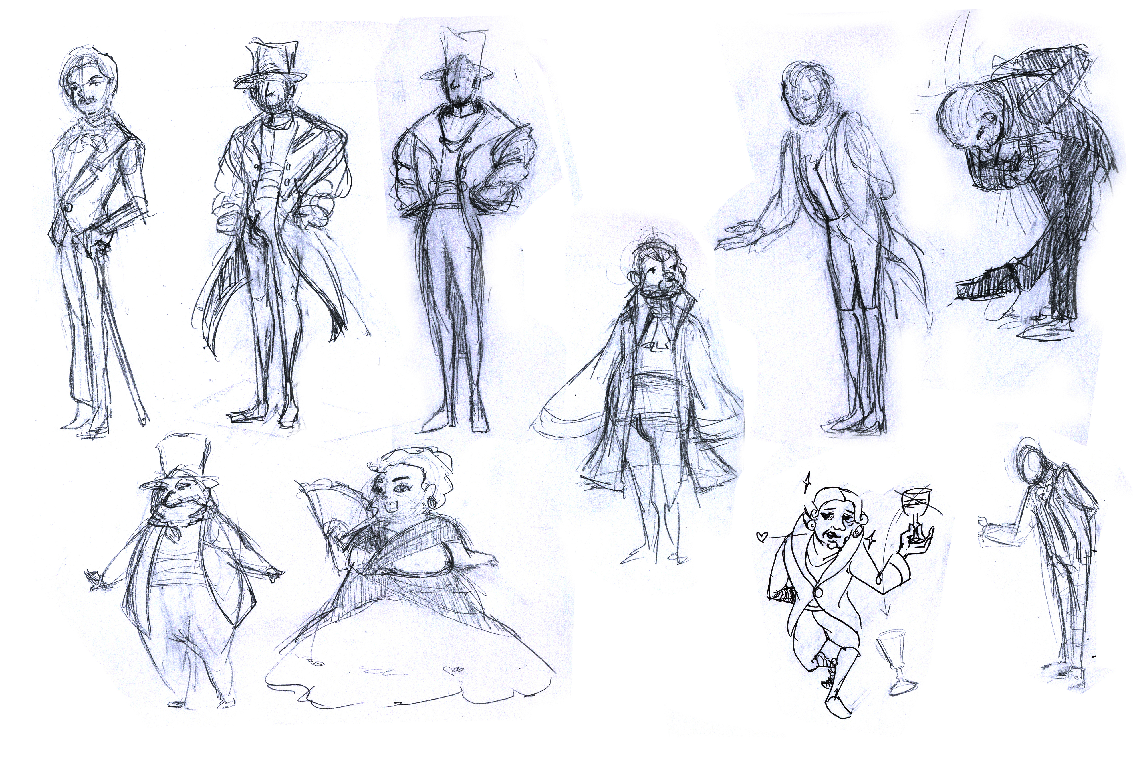 Crowd Character Thumbnails 1