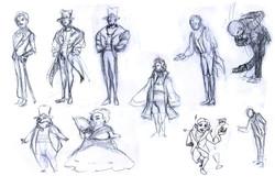 Crowd Character Thumbnails 1