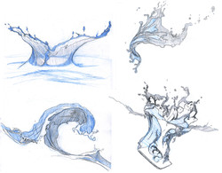 VFX study 3 - water