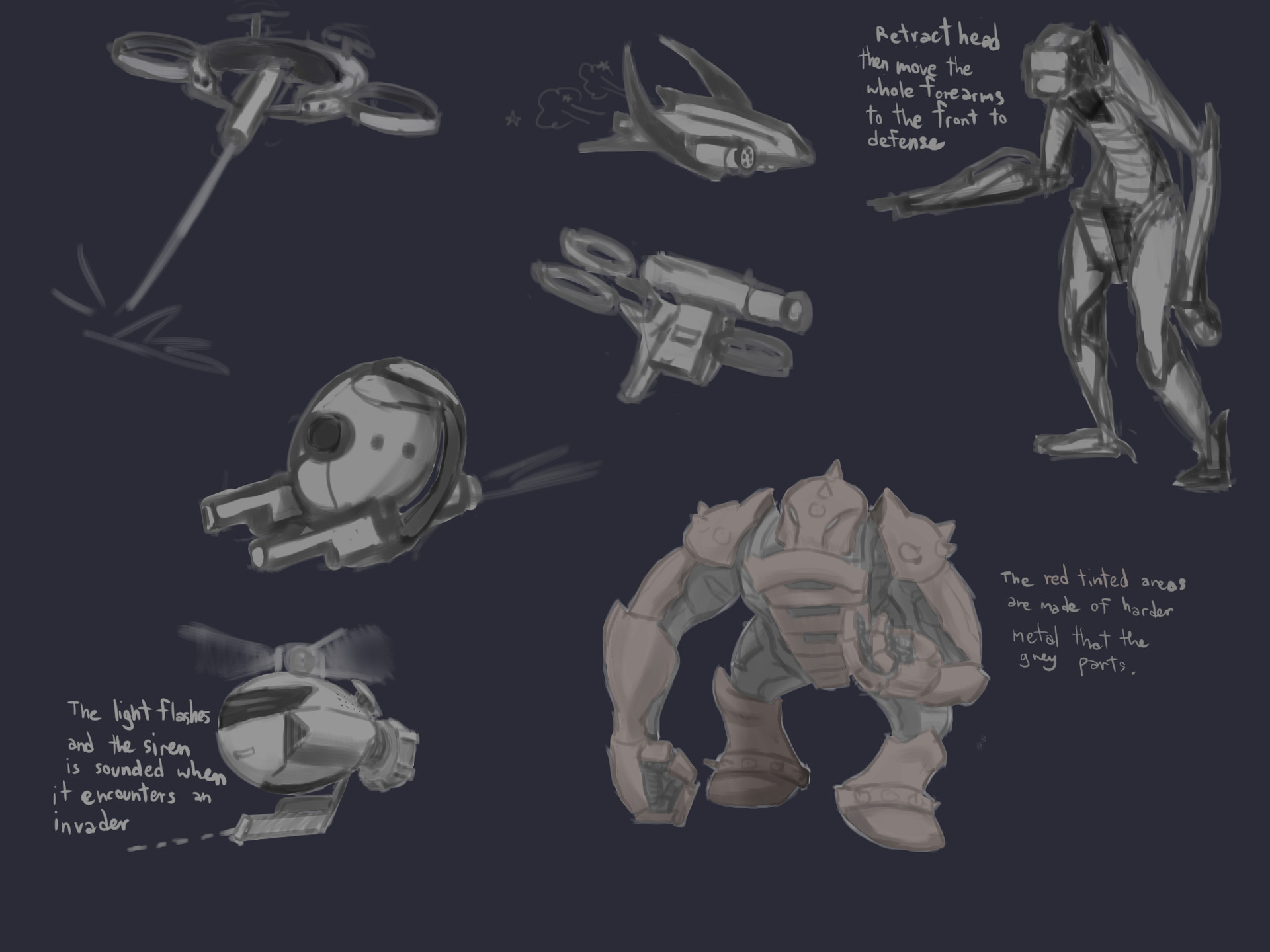 Exploration sketches 2