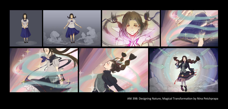 Magical Girl Transformation Design