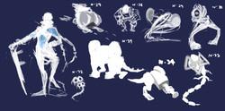 Exploration sketches 4
