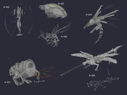 Exploration sketches 3