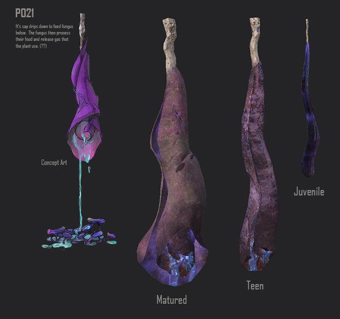 Alien Plant - P021