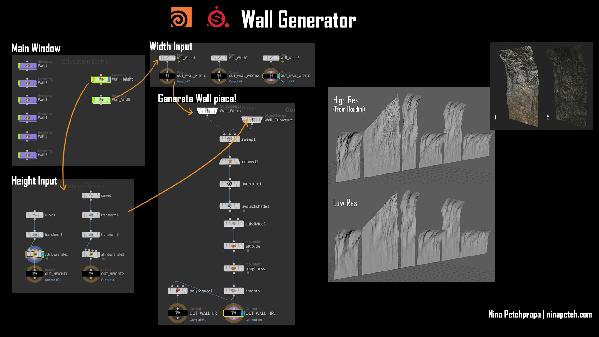 Cave Wall Generator