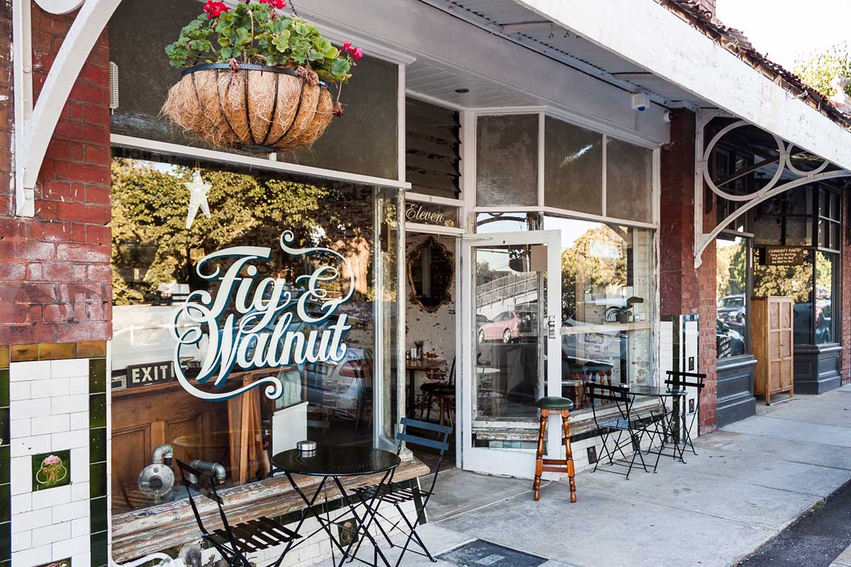Fig & Walnut Store front
