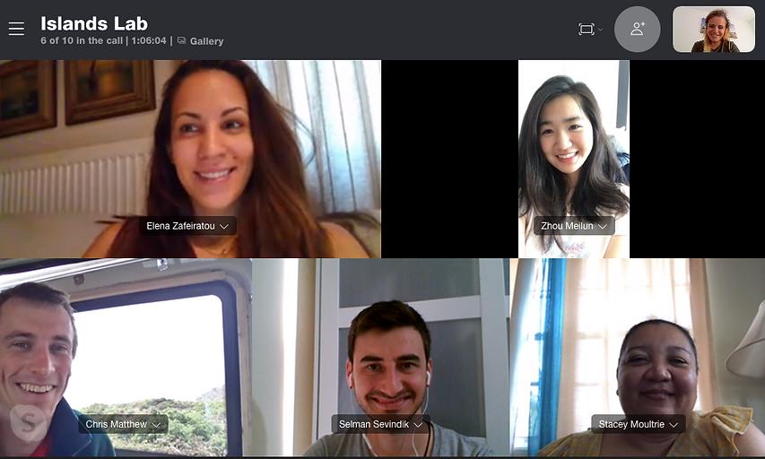 Weekly team meetings during COVID-19