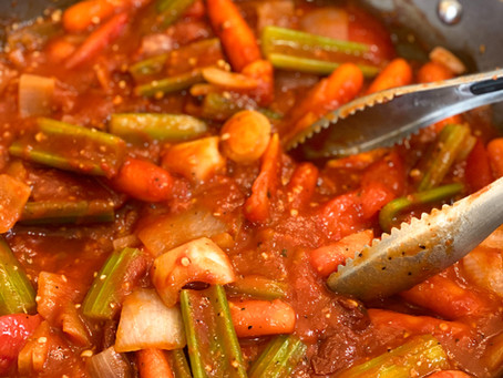 Spicy Brisket and Veggies