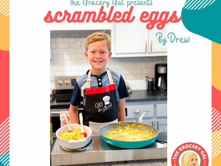 Family Meals Month: Cooking with Drew