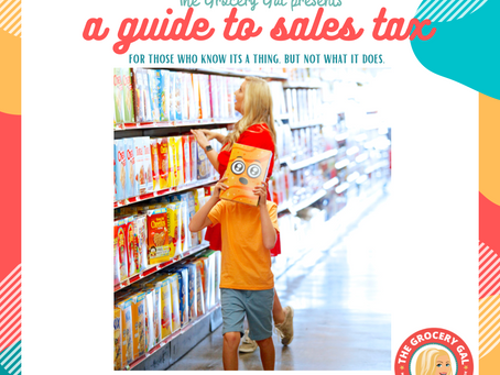 A Guide to Sales Tax: For those that know its a thing but not what it does.