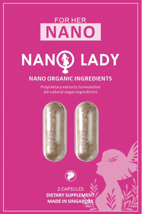 Nano Lady 2 capsules for outside Singapore only