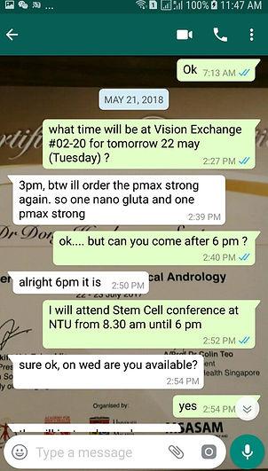 Testimonial 7/Singapore/Nanobiotechnology Pte. Ltd