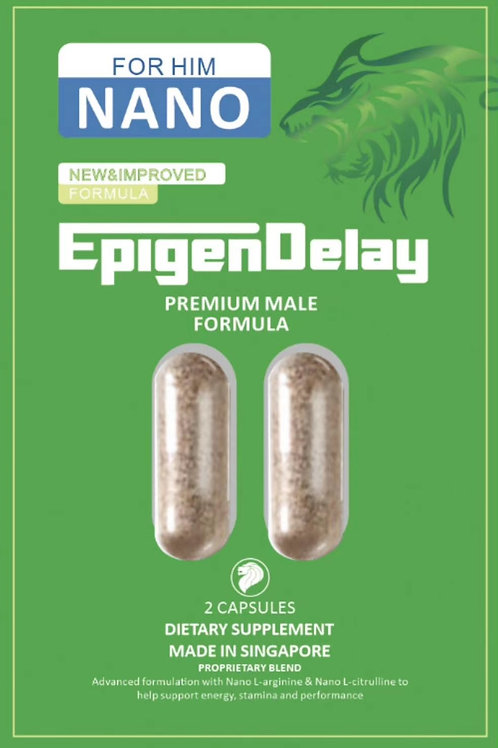 Epigen Delay 2 capsules for outside Singapore only