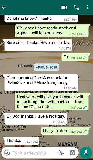 Testimonial 1/Singapore/Nanobiotechnology Pte. Ltd