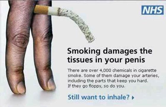 Erectile Dysfunction cause by smoking