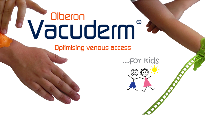 Olberon launch kids Vacuderm at Medica