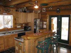 Log Home Interior 008