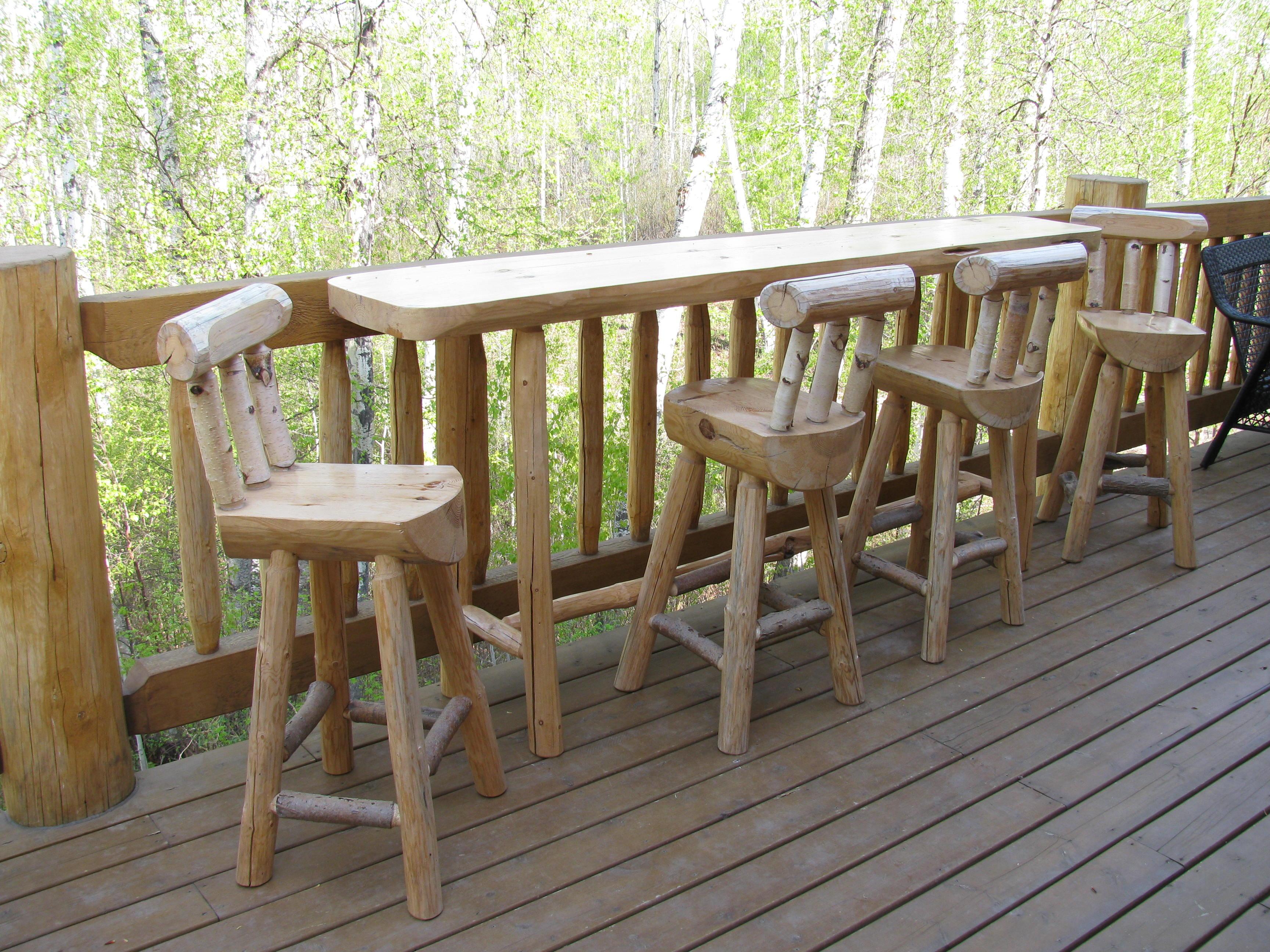 Log Furniture 002