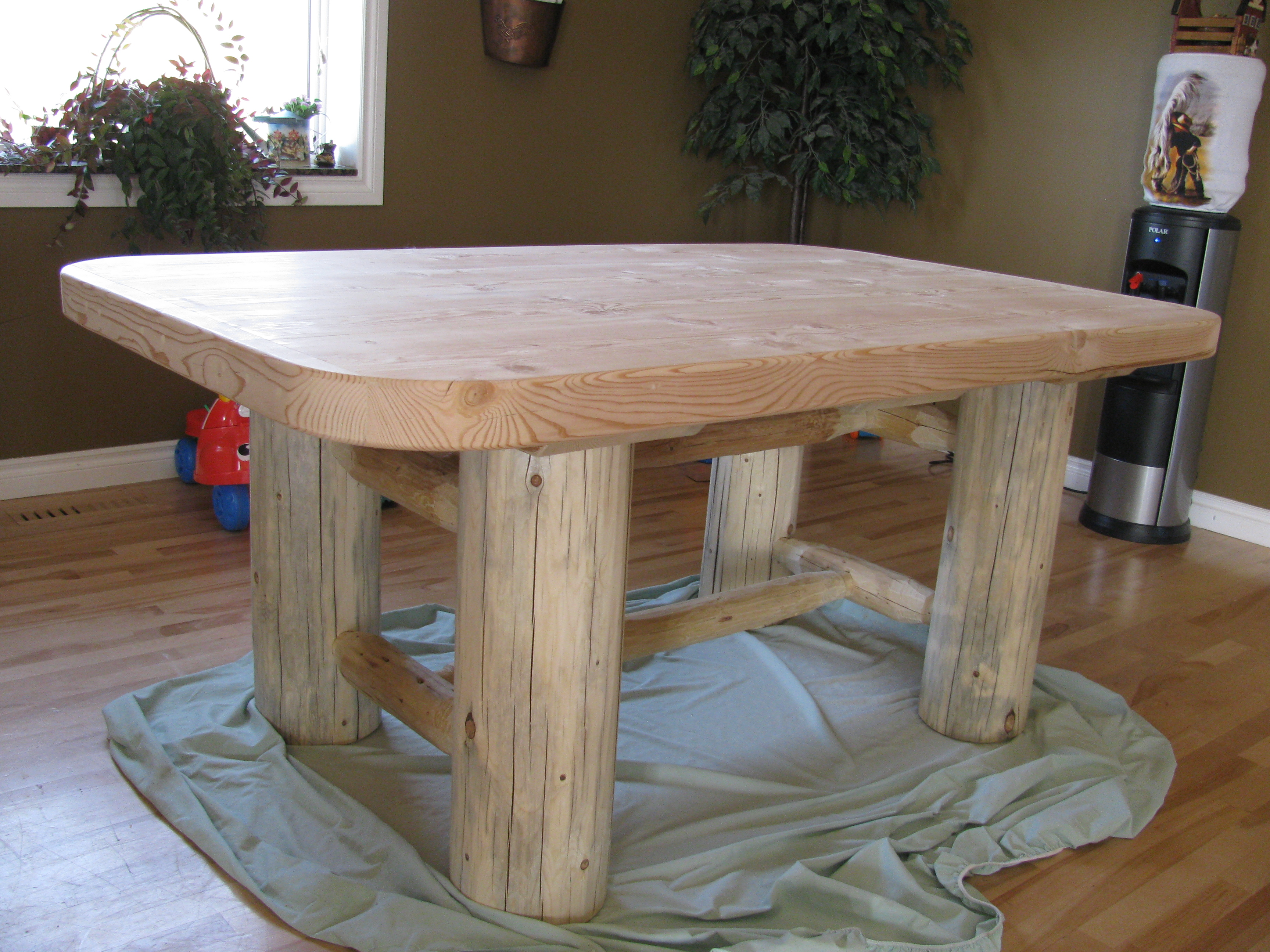 Sands Bed-Dining Table -May 2010 010