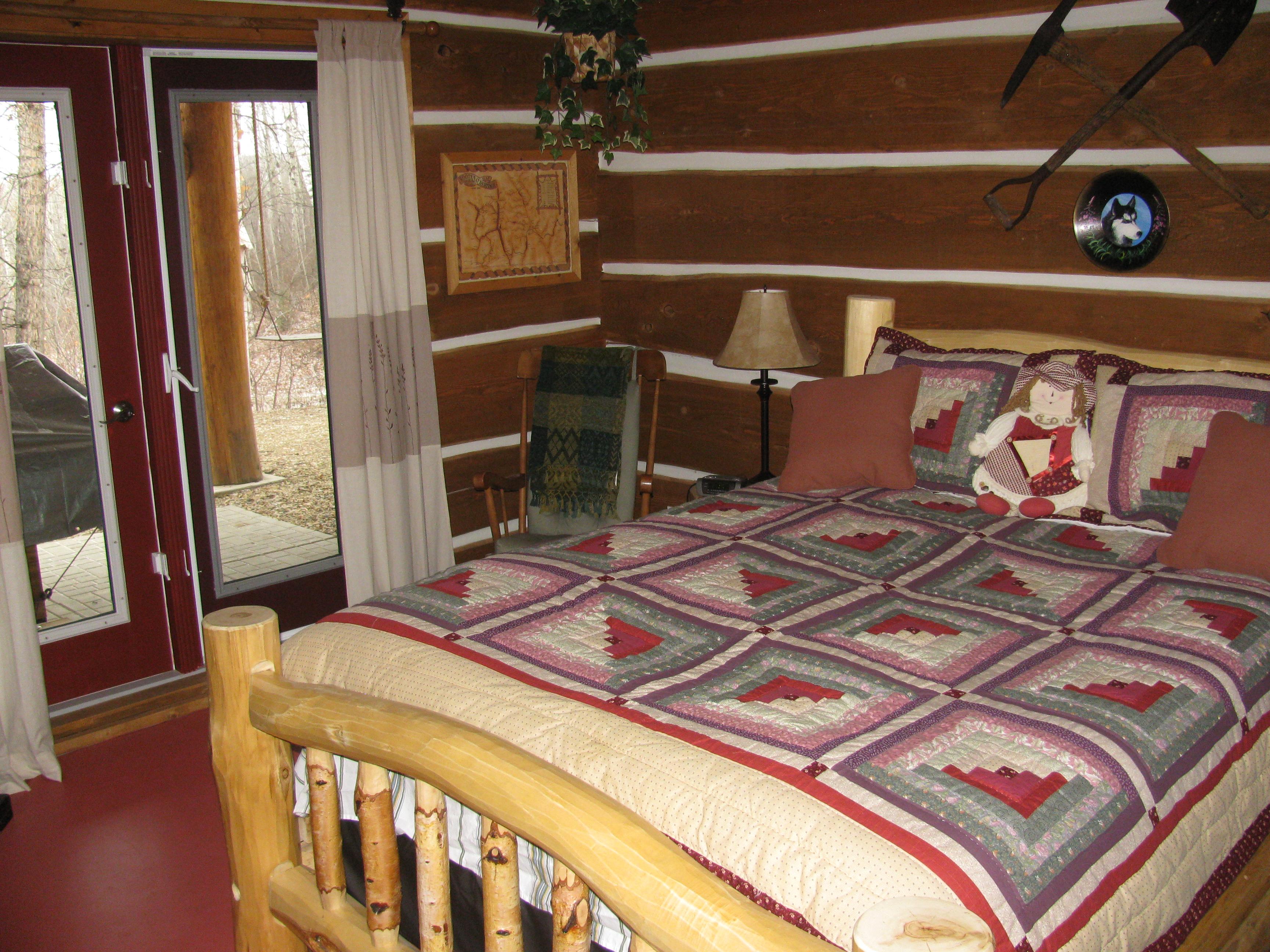 Log Home Interior 014