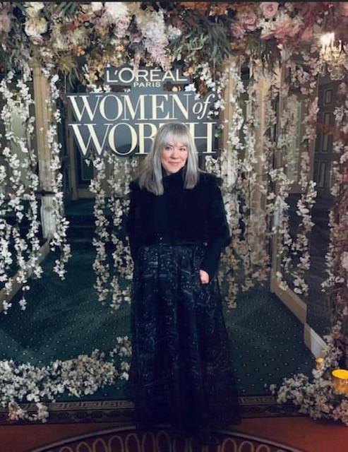 Image: Judy at L'oreal Women of Worth