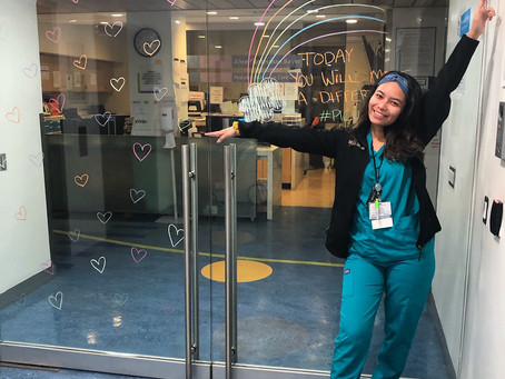 Shiella Yap, an RN from New York, has been raising funds to fuel the frontlines during night shifts