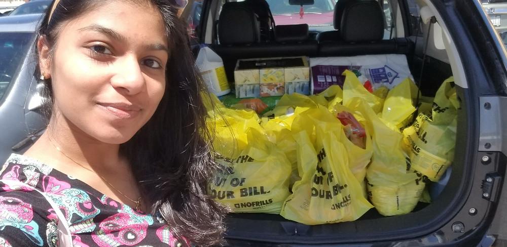 Image: Shanaya, GNP volunteer