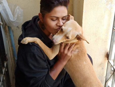 Malini Maha, an animal lover, continues to spread love to our paw-friends