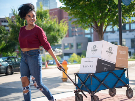 Food Love helps black, brown, and low-income families in need access fresh vegan food