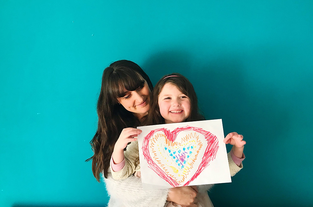 Image: Lucy Murray with her daughter