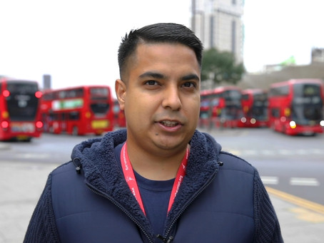 Meet the man who brought the community together to implement safety measures for London bus drivers