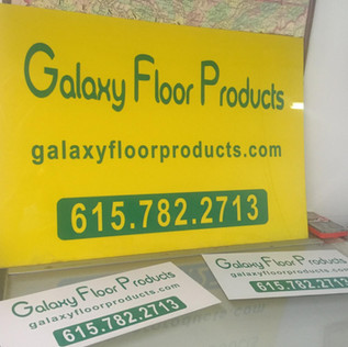STORE FRONT AND ADVERTISING SIGNAGE
