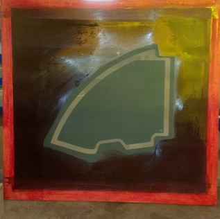 SILK SCREEN FOR GLASS PRINTING