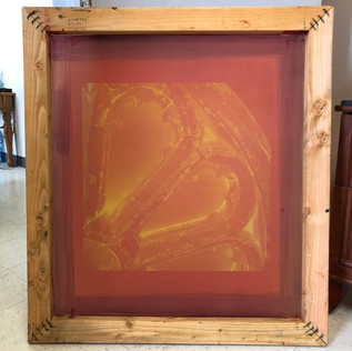 NEW FINISHED SILK SCREEN
