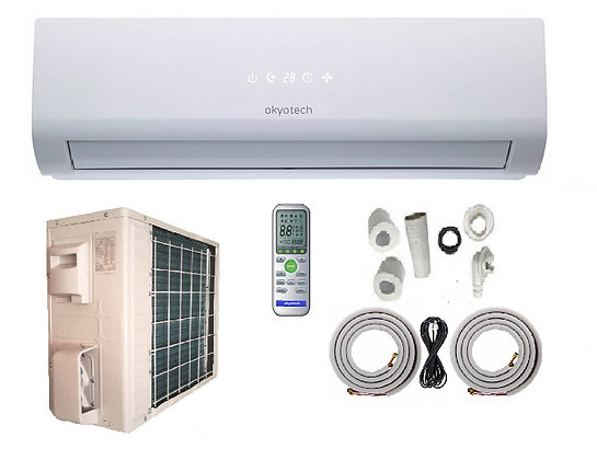 12000 BTU 15 SEER MINI SPLIT AC WITH FULL SET