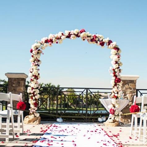 Romatic Valentines Wedding at Private Residence Davie