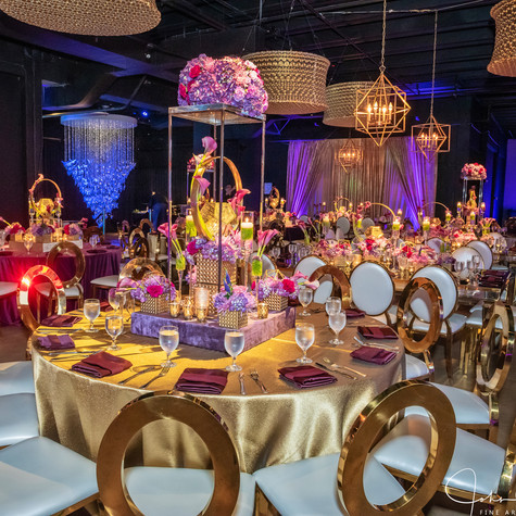 Modern Geometric Mitzvah at Gallery of Amazing Things Fort Lauderdale