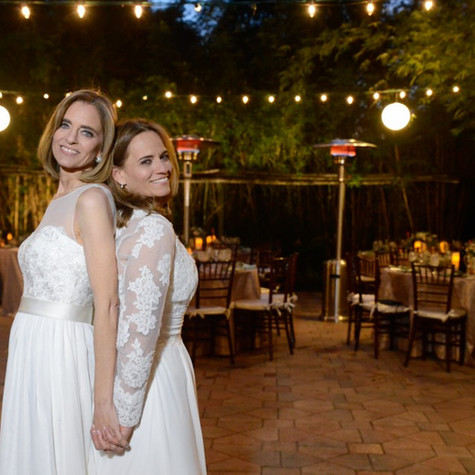 Rustic Chic Same Sex Wedding at The Bamboo Gardens, Ft. Lauderdale