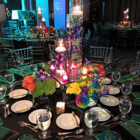 Pop of Color Mitzvah at Double Tree Grand  Miami