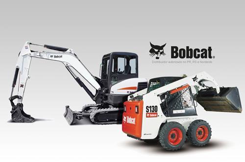 Locação de Bobcat em Curitiba. Bob Cat é Aqui