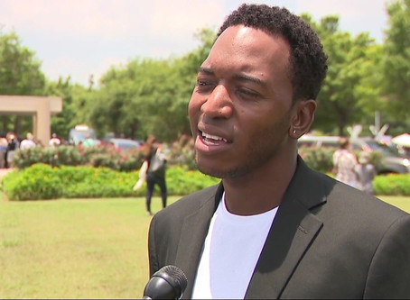Rashad Lewis trying to unseat Republican U.S. Congressman Brian Babin | KFDM