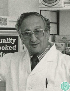 Arnold Krotosky, one of the last kosher butchers in Cardiff.