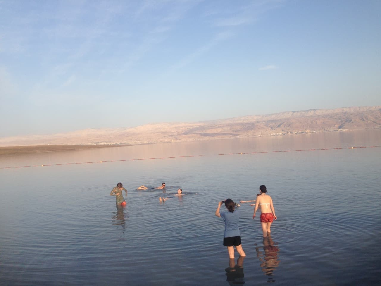 Floating on Salt (Dead-Sea 2017)