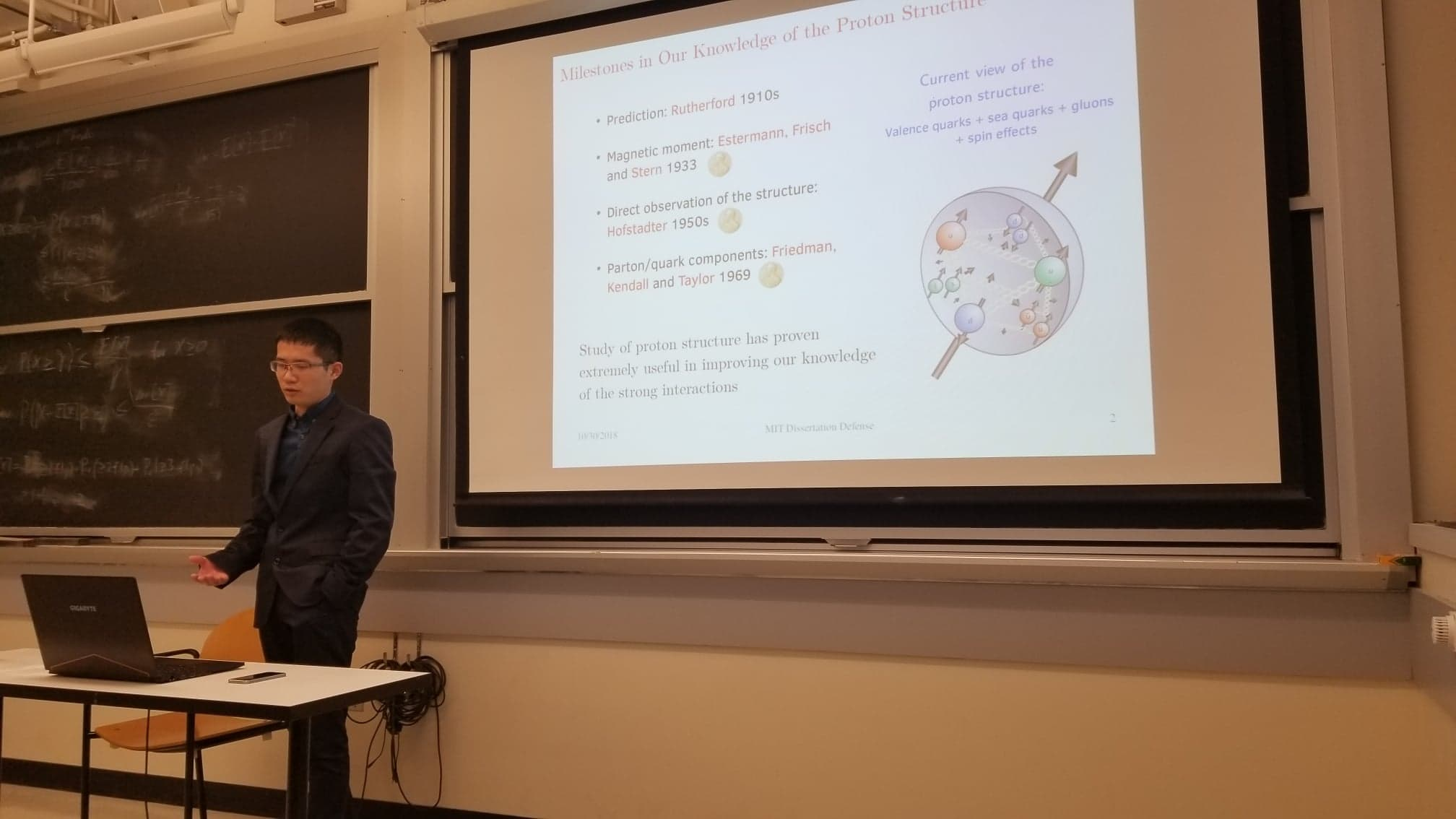 Longwu's Thesis Defense (Oct. 2018)