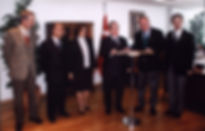 Bina tahsisi ile ilgili protokolün imzalanması