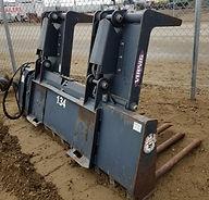"Bobcat 80"" Rock Grapple with teeth for rent, B&B Rental, Sidney, MT"