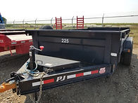 "Rent Dump Trailers, PJ 6'11"" x 14' Dump, B&B Rental"