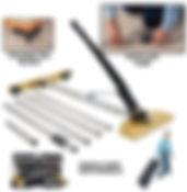Rent Carpet Stretcher, CRAIN Single Case Stretcher, B&B Rental, Sidney, MT